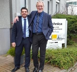 Uwe Müller (GF) und Pana Papandreou (HMC)